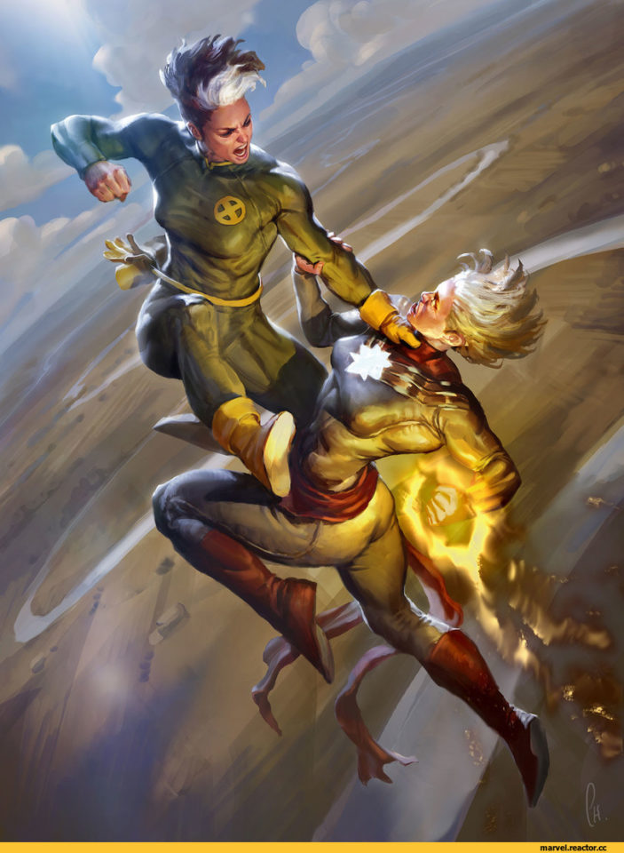 Капитан Марвел против Шельмы